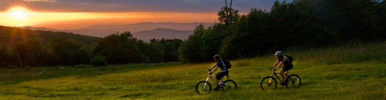 Rocky Knob Mountain Bike Park, Boone, North Carolina